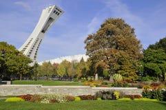 Le stade olympique de Montréal Photographie stock libre de droits