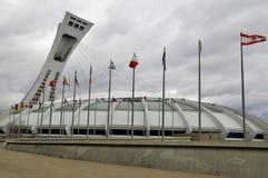 Le stade olympique de Montréal Images libres de droits