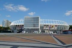 Le Stade Olympique, Kiev Image libre de droits
