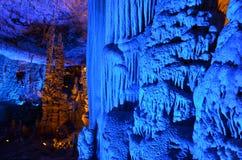 Le stalattiti di Avshalom scavano - Israele immagini stock