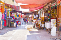 Le stalle variopinte Fotografie Stock Libere da Diritti