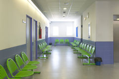 Le stanze della chirurgia e di rifugio alla clinica concentrano Fotografia Stock Libera da Diritti