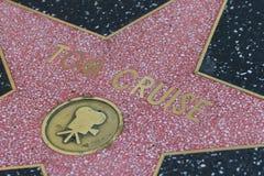 Le star de Hollywood de Tom Cruise Images stock
