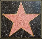 Le star de Hollywood a encadré Photographie stock