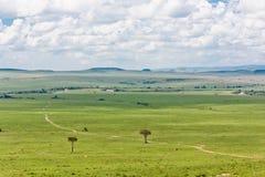 Le stationnement de Mara de masai Photos libres de droits
