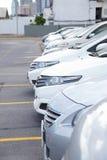 Le stationnement de véhicule Image libre de droits