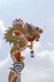 Le statue dei draghi credono immagine stock libera da diritti
