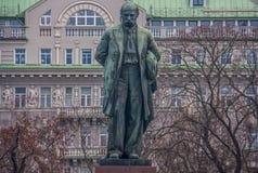 Le statue di Kiev, Ucraina fotografia stock libera da diritti