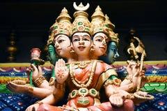 Le statue indù a Batu scava Kuala Lumpur Malesia fotografia stock libera da diritti