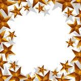 Le stelle confinano fatto nello stile geometrico contemporaneo, backgr di vettore illustrazione vettoriale