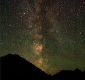 Le stelle di Buryat Fotografia Stock Libera da Diritti