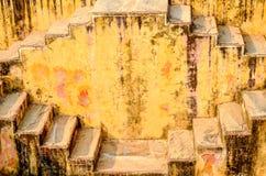 Le stepwell de Jaipur, Ràjasthàn, Inde Photos libres de droits