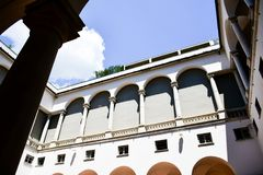 LE Strade Nuove Γένοβα, Ιταλία στοκ φωτογραφία