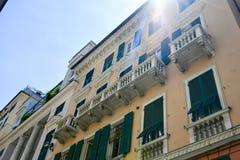 Le Strade Nuove Genova, Italia immagine stock libera da diritti