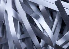 Le strisce di metallo si chiudono in su Fotografie Stock