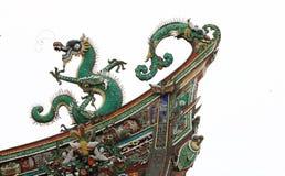 Le stuc conçoit le dragon Photos stock