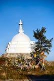 Le stupa bouddhiste chorten Image libre de droits