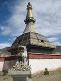 Le stupa bouddhiste, choyten Photos stock