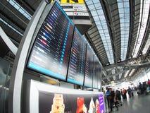 Le style contemporain de matériel et de construction conçoivent l'aéroport de SUVARNABHUMI À BANGKOK Photographie stock