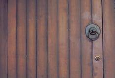 Le style d'effet de vintage décrit la porte de vintage Photographie stock libre de droits