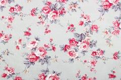 Le style de vintage de la tapisserie fleurit le modèle de tissu Images libres de droits