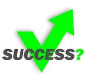 Le succès est à vous Image stock