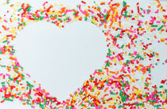 Le sucre arrose Images libres de droits