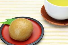 Le sucre de Brown a cuit le pain à la vapeur photos libres de droits