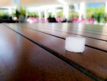Le sucre de cube image stock