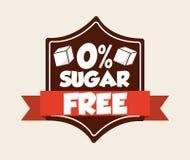 Le sucre libèrent Images libres de droits