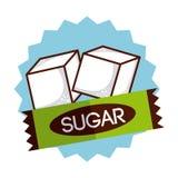 Le sucre libèrent Image libre de droits