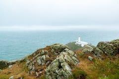 Le sud empile le phare Photo libre de droits