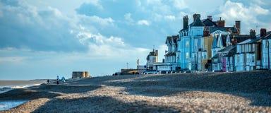 Le Suffolk d'Aldeburgh photographie stock libre de droits