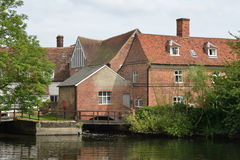 Le Suffolk de moulin de Flatford Photos libres de droits