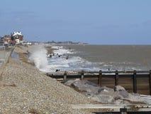Le Suffolk de ville d'Aldeburgh image stock