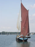 Le Suffolk Wherry Photographie stock