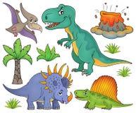 Le sujet de dinosaure a placé 4