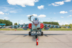 Le Sukhoi Su-25 Grach, Frogfoot Photographie stock