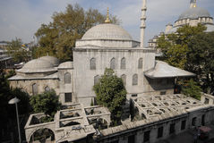 Le sultan de tabouret, épouse du ` s de Sultan Abraham est incorrectement tombe/Istanbul-Turquie turhan de sultan Images stock