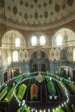 Le sultan de tabouret, épouse du ` s de Sultan Abraham est incorrectement tombe/Istanbul-Turquie turhan de sultan Image stock