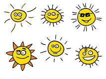 le sunshines Arkivbild