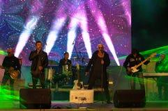 Le supergroup bulgare les légendes vivent concert Photo stock