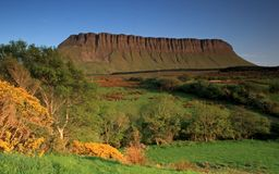 Le support benbulben images stock