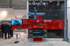 Le support de Rafael Advanced Defense Systems (Israël) image libre de droits