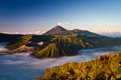 Le support majestueux Bromo photo stock