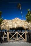 le sur buiilding de san de toit de del juan Nicaragua a couvert de chaume Photo stock