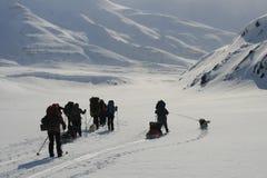 Le Svalbard Norvège Photographie stock