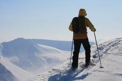 Le Svalbard Norvège Photos stock