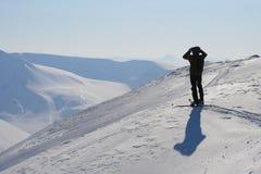Le Svalbard Norvège Image libre de droits