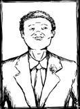 Le svart tonårigt i dräkt Arkivbilder